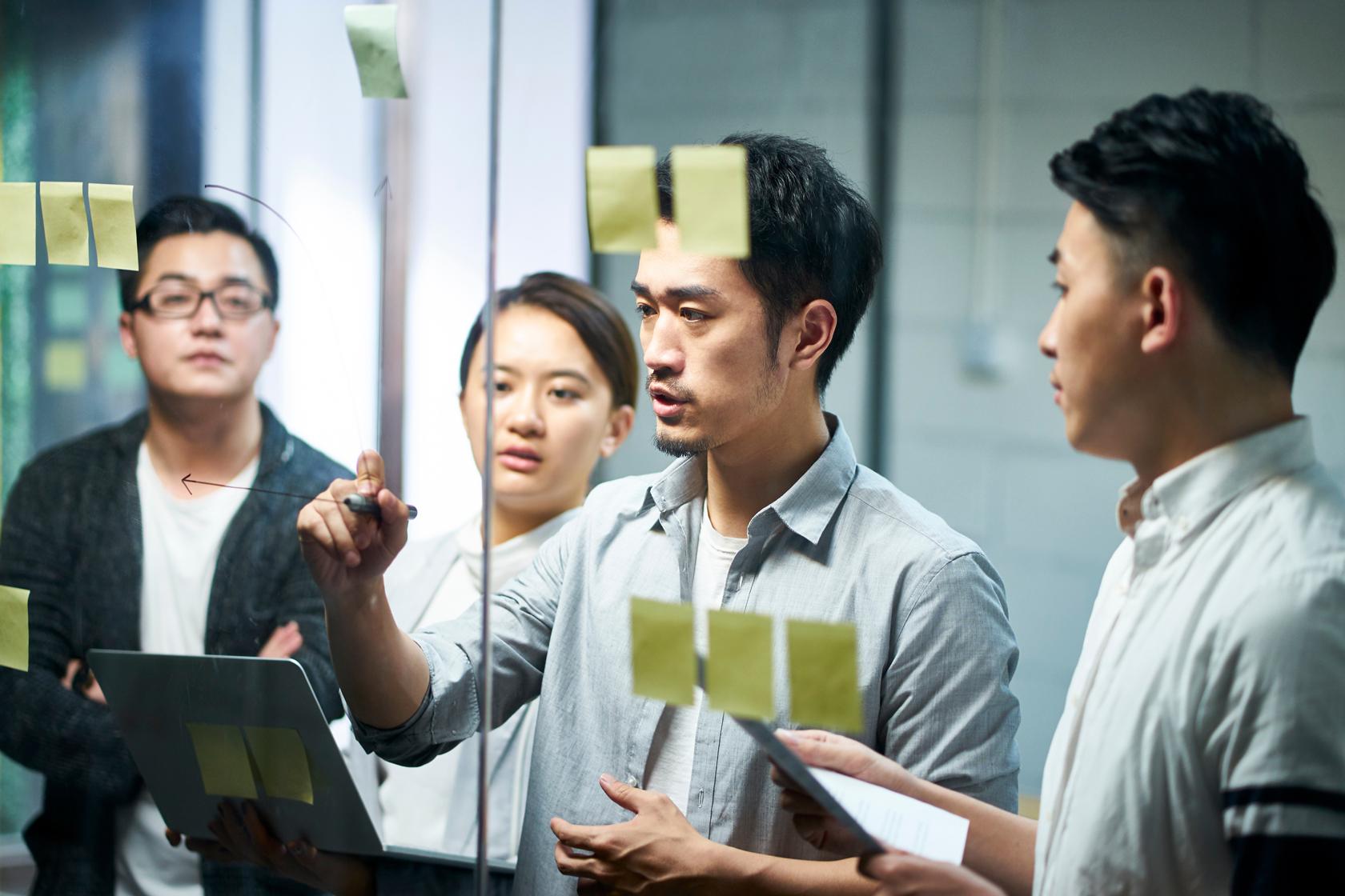 研修見直しに必要な4つの検討プロセス