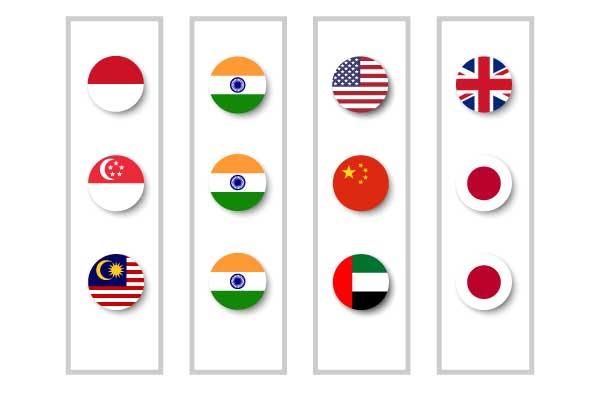 国別チーム&外国人混合チームグループでのフェアな競争