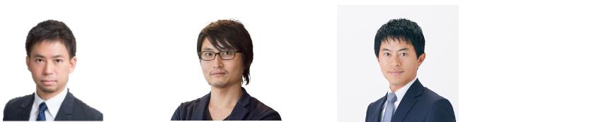 IGPIシンガポール代表の坂田とKK Fund代表の斉藤、アルー代表の落合